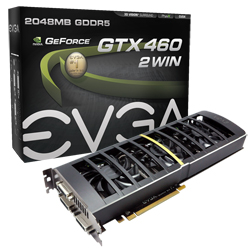 EVGA GeForce GTX 460 2Win